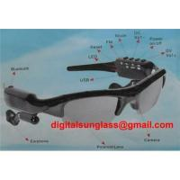 China 4GB All-in-one Sunglass with Digital Camcorder & MP3 Player & Bluetooth Headset & FM Rad on sale