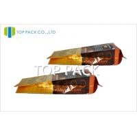 Buy cheap PET / VMPET / PE Coffee Packaging Bags Aluminum Foil Side Gusset from wholesalers