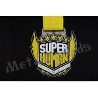 Zinc Alloy Iron Or Brass Race Finisher Medals Custom Design Die Struck Process