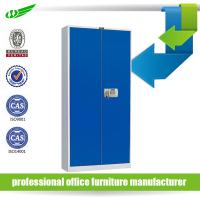 Buy cheap Blue assemble metal filing cabinet with electronic lock product
