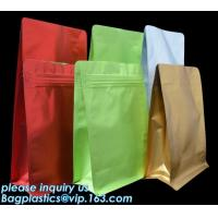 Buy cheap Coffee Stand Up Zip Lock Bags Aluminum Foil Food Packaging Metallized Standing from wholesalers
