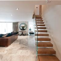 Buy cheap Glass railing Build Floating Stair from wholesalers