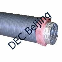 Buy cheap 6 inch Insulated flexible duct low cost insulated aluminum foil flexible duct for HVAC from wholesalers