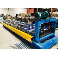Buy cheap Trapezoidal Roof Panel Roll Forming Machine 33ksi - 50ksi Yield Stress product