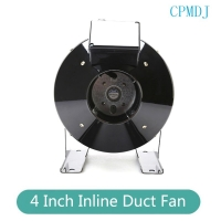 Buy cheap Hydroponics Grow Tent Ventilation 4 Inline Exhaust  Ducted Fan Motor product