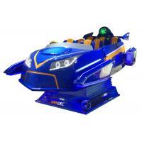 2K Resolution 9D Simulator / Virtual Reality Roller Coaster Simulator 6 DOF