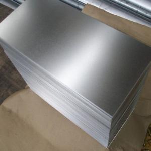 China Cathodic Protection Galvanized Steel Sheet Anti Oxidation Lightweight High Precision on sale
