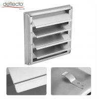 China Rust Proof 100mm Air Vent Duct Grill SS Wall Square Dryer Extractor Fan Outlet on sale