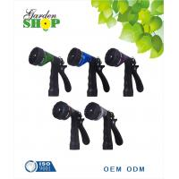 Buy cheap Rear Trigger 6-Pattern Metal Water Hose Nozzle for garden lawn from wholesalers