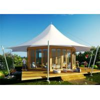 Buy cheap Prefab Transparent Hollow Soundproof Glass Wall Safari PVDF Tent Hotel from wholesalers