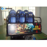 Buy cheap Mobile Amusement 5D Moving Theater , Hydraulic System 5D Cinema Equipment from wholesalers