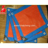 Buy cheap Waterproof HDPE tarpaulin uesd for truck cover,construction and agriculture from wholesalers