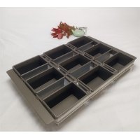 Buy cheap Non Stick Perforated 600x390 French Bread Baking Tray from wholesalers