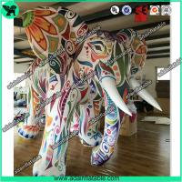 Buy cheap Large Colorful Inflatable Elephant / Outdoor Advertising Balloon For Big Event from wholesalers