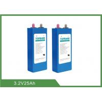 Buy cheap 3.2V 25Ah Prismatic Lithium Iron Phosphate Cells With 8 Years Calendar Life from wholesalers