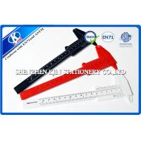Buy cheap Red / Black / White Plastic Flexible Vernier Calipers Rectangle For Engineer from wholesalers