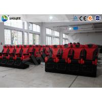 Buy cheap Electronic System 4D Movie Theater Big Screen With Snow Bubble Rain Fire product