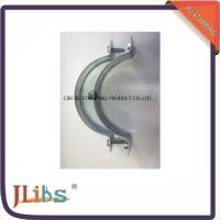 Buy cheap Zinc Plated / Plastic Dipping Steel Q195 Galvanised Pipe Clamps 63mm - 315mm from wholesalers