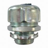 Buy cheap Liquid Tight Straight Connector, NPT Thread, UL/cUL Listed, Conduit Fittings from wholesalers