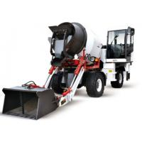 Buy cheap Self Loading Mobile Concrete Mixer Cement Mixer with Wheel 3m3 from wholesalers