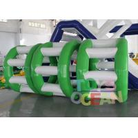 Buy cheap Human Sized Hamster Ball Inflatable Water Roller Wheel 0.90mm PVC Vinyl from wholesalers