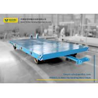 Buy cheap 15T Transport Steerable Heavy Duty Plant Trailer with Draw Bar from wholesalers