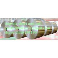 Buy cheap Tinplate Steel Coil with 2.8/2.8g Tin Coating, Stone Finish, Prime Quality  MR SPCC T3 BRIGHT from wholesalers