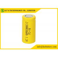 Buy cheap NICD 1.2V 2/3AA 400mah Nickel Cadmium Nicd Battery Low Inner Resistance from wholesalers