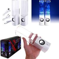 China Mini LED USB water dancing speakers indoor musical for Computer on sale