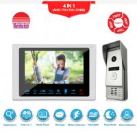 Buy cheap Excellent quality video door phone silver doorbell with camera smart security intercom system from wholesalers