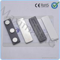 Buy cheap Hot selling Plastic Magnetic Badge Holders with 3 disc neodymium magnets from wholesalers