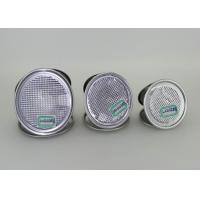 Buy cheap Air tight 0.23 mm Thick Aluminium Foil tin can Lids With ISO SGS QS from wholesalers