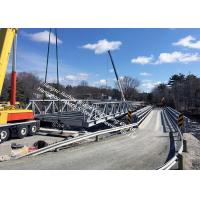 Buy cheap Prefabricated Delta Assembly Modular Steel Bridge With Concrete Deck High Stiffness Steel Truss Bridge from wholesalers
