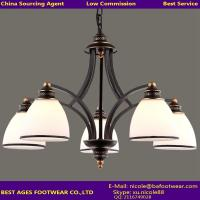 Buy cheap 2015 hot sale black iron chandelier from wholesalers