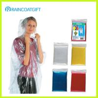 Buy cheap PE Disposable Emergency Rain Poncho from wholesalers