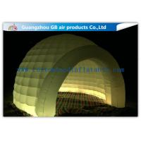 Buy cheap Multi Color Lighting Round Inflatable Air Tent Dome With Oxfor Cloth Material product