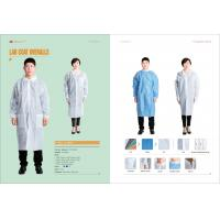 Buy cheap hot sale  cheap disposable lab coat/lab coats disposable/hospital lab coats/medical lab coatsfluid resistant lab coats from wholesalers
