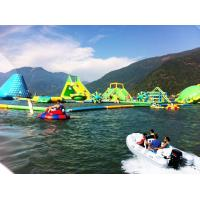 Buy cheap Large Inflatable Water Parks , Commercial Grade Inflatable Amusement Park from wholesalers