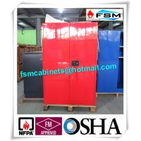 Buy cheap Chemical Safety Paint Storage Cabinets Double Doors For Hazardous Material from wholesalers