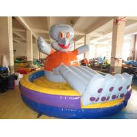 Buy cheap Lovely Inflatable Toddler Blow Up Bouncers HD Printing Professional Fixation Design from wholesalers