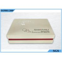 Flat Specialty Paper Cosmetic Gift Boxes Square Packaging 235g Single Weight