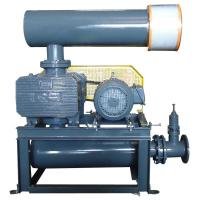 Buy cheap Simple High Speed Roots Rotary Lobe Blower Horizontal Discharge Silencer Type from wholesalers