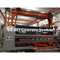 Buy cheap Fully Automatic electroplating line for roto gravure cylinder making pre-printing electro-mechanical machine from wholesalers