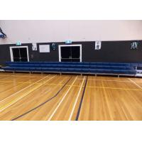 Buy cheap Portable Outdoor Aluminum Bleachers / Indoor Bleacher Seating With Carter Brakes from wholesalers