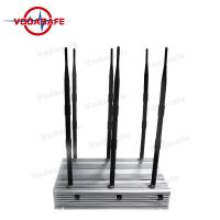 Buy cheap High Power Cell Phone Jamming Device , Mobile Phone Scrambler 2G 3G 4G from wholesalers