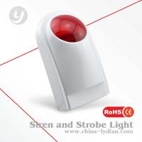 Buy cheap Indoor GSM Emergency Strobe Light Home Security Alarm System from wholesalers