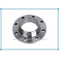 Buy cheap Welded PN16 / 10 Flange Stainless Steel Pipe Fittings ASTM A182 WN / SO / BL / SW from wholesalers