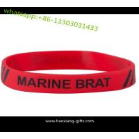 Buy cheap Wholesales customized logo promotional cheap silicone wristbands/bracelt from wholesalers