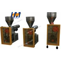 Buy cheap Small Plastic Extrusion Machine 60 rpm Screw Maximum Rotating Speed from wholesalers