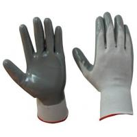 Buy cheap Grey Nitrile Coated Nylon Gloves from wholesalers